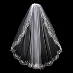 Royal Collection - Vintage dream high end cathedral wedding veil - SALE