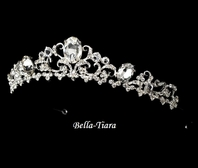 Royal Rhinestone Crown Bridal tiara - SALE!!