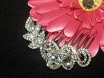 Sabella - Beautiful crystal rhinestone hair comb - SPECIAL
