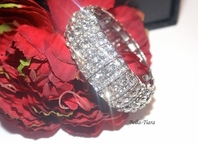 Saheli - Gorgeous wide elegant bridal bracelet - SPECIAL!!! Two left