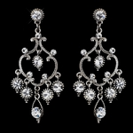 Salina - Pretty vintage inspired chandelier earrings - SALE!!