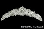 Salma - Gorgeous High end Swarovski crystal communion tiara comb - SALE
