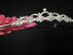 Sandy - Beautiful rhinestone bride or flowergirl Crystal tiara -SALE