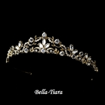 Savanna - Beautiful Light Gold Tiara