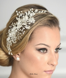 Serena - Royal Collection - Stunning Swarovski crystal wedding hair comb - SALE