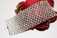 Serenade - Glamorous swarovski crystal wedding bracelet