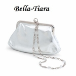 Silver Wedding Purse