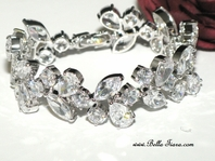 Simona - Royal Collection - Couture Elegant CZ bracelet - Amazing Price!!