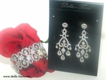 Sleepingbeauty - Stunning CZ vintage wedding jewelry set - SPECIAL one set left