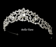 Snowwhite - Beautiful princess crown wedding tiara - SALE!!