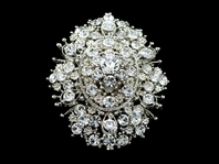 Sole-Vintage beauty wedding bridal brooch - SALE