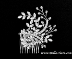 Solitude - Romantic vine wedding hair comb - SPECIAL