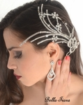 Sophie - Royal Collection couture swarovski wedding hair comb - SALE