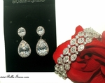 Sparta - GORGEOUS high end CZ  jewelry set - SALE