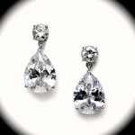 Splendida - Elegant Cubic Zirconia wedding earrings - SPECIAL