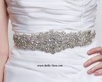 Stella - Gorgeous Swarovski crystal wedding sash belt - SPECIAL