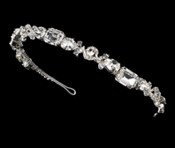 STUNNING couture contemporary rhinestone headband - SALE!