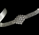 STUNNING -- NEW swarovski crystal wedding sash - PREORDER hot!!!-