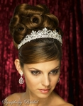Stunning Regal Crystal Crown