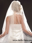 STUNNING - Royal collection Swarovski crystal wedding veil - Amazingly priced!!