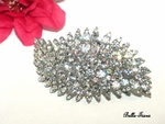 STUNNING Swarovski crystal hair barrette - SPECIAL two left