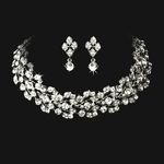 STUNNING Vine Bridal collar necklace set - SPECIAL!!!