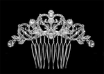 Stunning Vintage Inspired Crystal Bridal Hair Comb - SALE!!