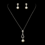 Stunning Wedding Necklace & Earrings Set