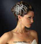 SUNLIGHT - STUNNING Crystal Bridal Hair comb - SALE!! TWO LEFT
