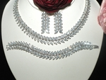 Susanna - GORGEOUS CZ wedding necklace set - Amazingly Priced!!