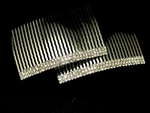 Talia - Elegant set of 2 rhinestone hair combs - SALE