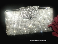 Temptation - STUNNING Swarovski crystal clutch purse - Wholesale price