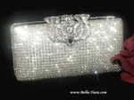 Temptation - Swarovski crystal vintage wedding purse - SPECIAL two left