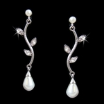 Terri-Elegant Tear Drop Pearl Earring