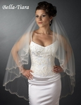 The Romance Collection - 2 Layer Veil with Scolloped Edge