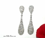 Treaure-NEW!! Elegant Teardrop Swarovski crystal Earring  - SPECIAL!! HOT back in stock