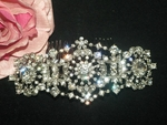 Twilight Bella inspired swarovski wedding hair comb - SPECIAL one left