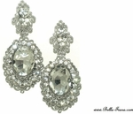 Valecia - Romantic  vintage rhinestone earrings - SOLD