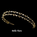 Valeria - Beautiful Gold Vine Headpiece