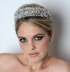 Venus- NEW Royal Collection Swarvoski crystal bridal tiara - AMAZING PRICE