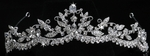 Victoria - Beautiful Vintage Swarovski crystal wedding Tiara - SALE