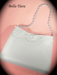 Vikkie - Beautiful pearl beaded first communion purse