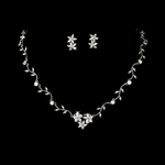 Vine Beauty Cubic Zirconia Bridal Necklace Set - GREAT PRICE!!