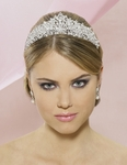 Vitalia - NEW!! STUNNING ROYAL CRYSTAL BRIDAL TIARA-SALE