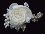 Voilet - Elegant Flower wedding Head Piece - SPECIAL