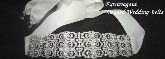 Belts Wedding Beaded Sashes
