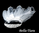 Communion crown Headband and Veil - CLEARANCE- sold