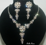 Willow - STUNNING ivory pearl crystal wedding jewelry set - Amazingly priced!!