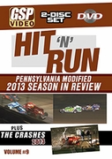 Hit 'n' Run 2013: Pennsylvania Modified Season in Review and Crash DVD Combo-Set