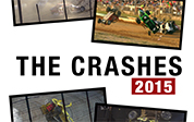 The Crashes 2015 DVD